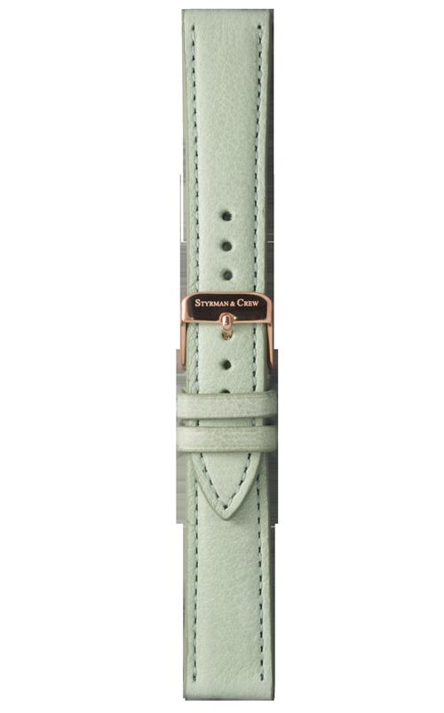 Nachhaltiges Armband für deine Uhr in Mint
