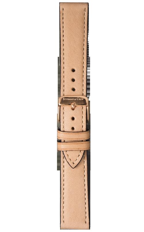 Nachhaltiges Armband für deine Uhr in Creme
