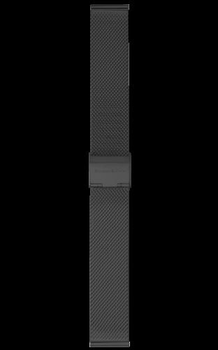 schwarzes Mesharmband