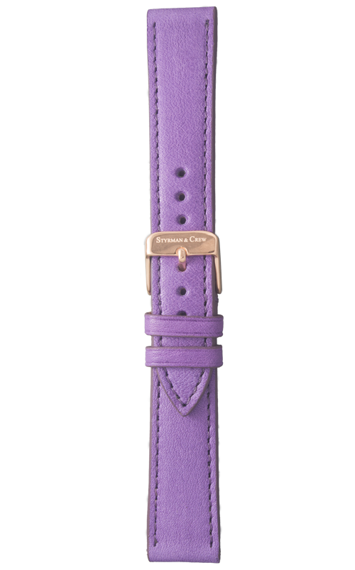 Individual sustainable natural leather strap