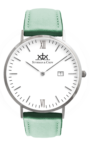 individual watch with scratch resistant sapphire glass